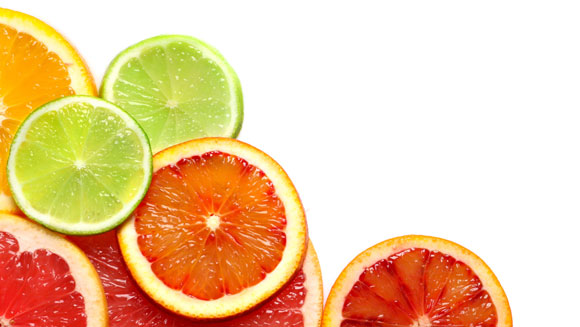Citrus fruits and berries can be helpful