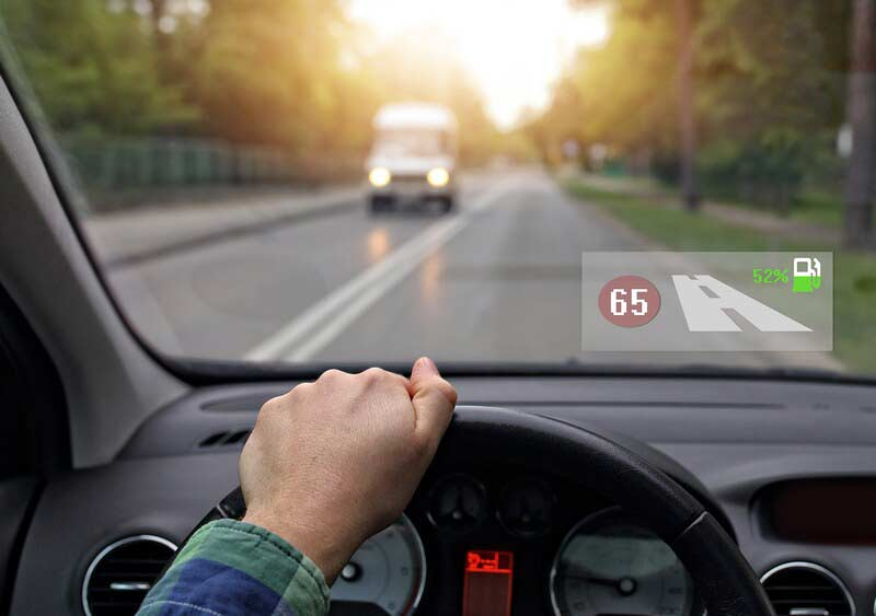 Overview on the Heads-up Display in the Car