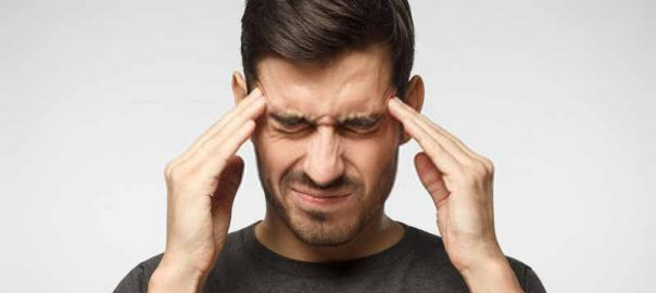 severe head pain when coughing