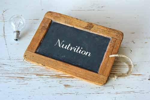 Kinds of Nutrition