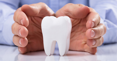 Tooth decay leads to discoloration