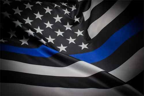 Blue Line Flag Mean
