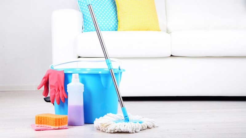 How to Clean a Sponge Mop Head