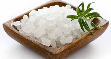 Cleanse Crystals With Sea Salt