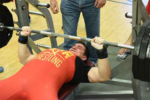 The advantages of warm-up for max bench