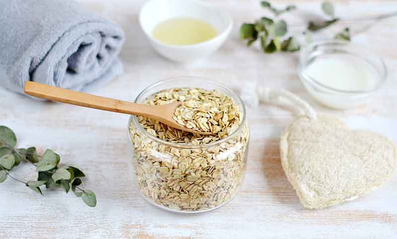 Easy Handmade Oatmeal Milk Bath Sachets