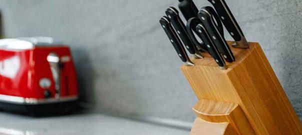 Thread Spool Knife Holder